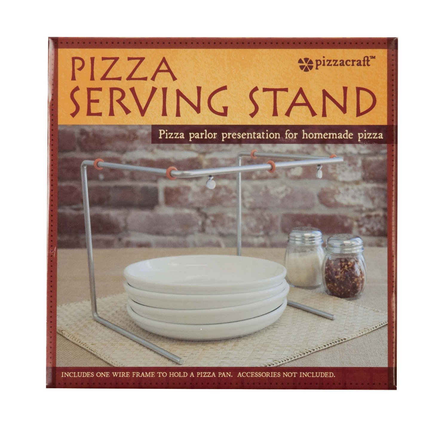 Pizza serving stand