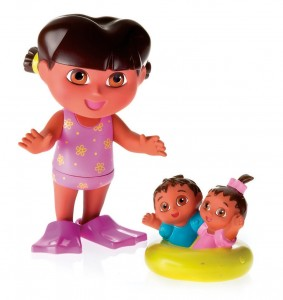fisher price splash around dora and twins