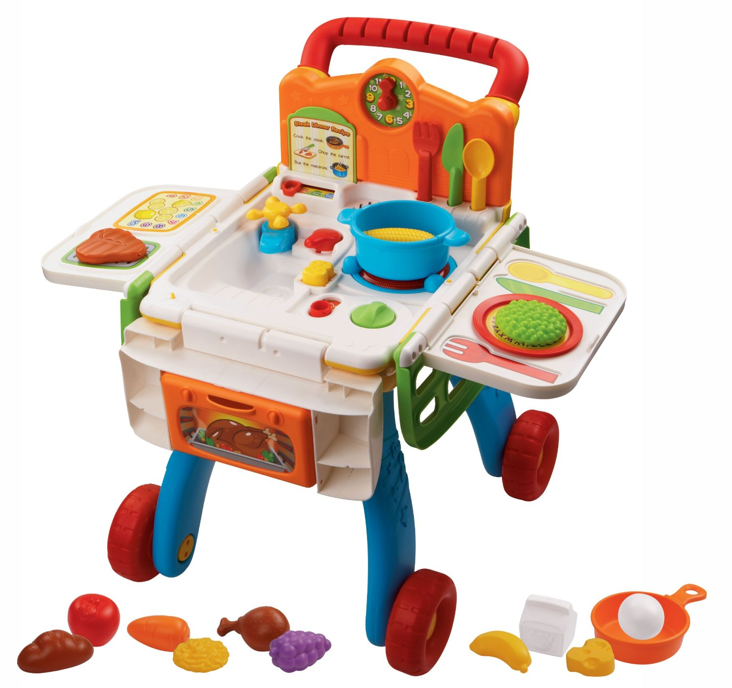 vtech shop cook playset